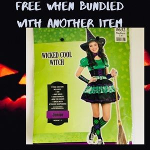 Juniors Witch Costume Med.